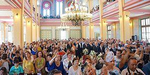 Sinagogda 41 Yıl Sonra İlk Nikâh