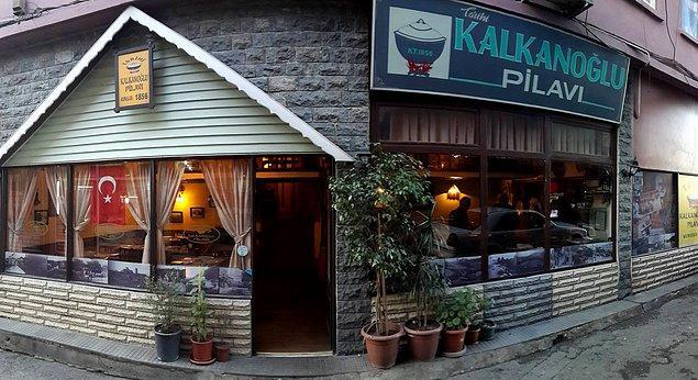 3. Trabzon'un en ünlüsü: Kalkanoğlu Pilavı