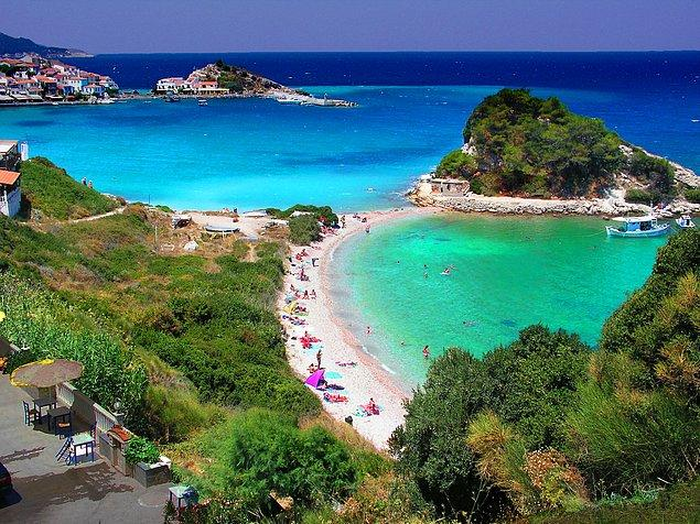 1. Samos, Yunanistan