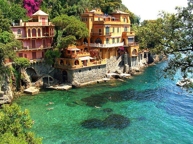 12. Portofino, İtalya