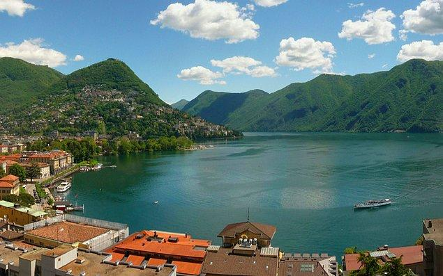 21. Lugano, İsviçre