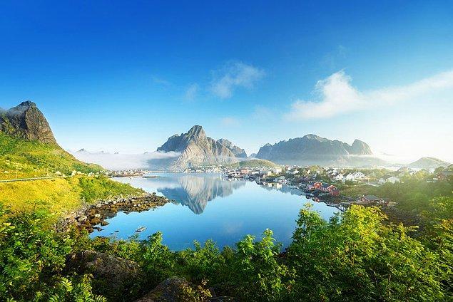 23. Lofoten, Norveç