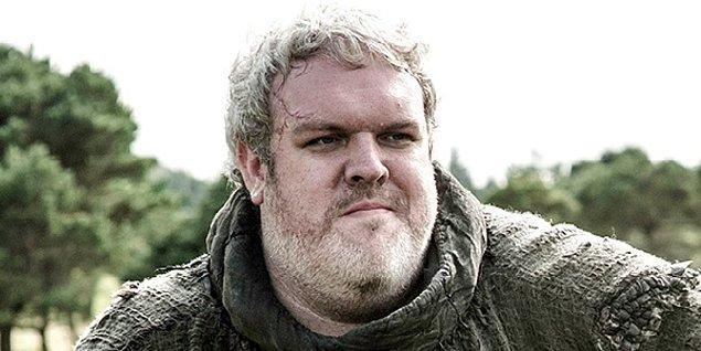 8. Adam gibi adam Hodor karakterini canlandıran Kristian Nairn olmadan olmaz.