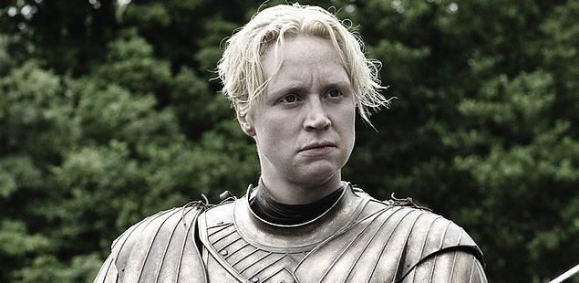 12. Tarthlı Brienne karakterini canlandıran Gwendoline Christie?