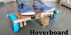 """""""Anne Bana Niye Almıyorsunuz, Bizde Niye Yok?"""" Derdine Son: Ev Yapımı Hoverboard"""