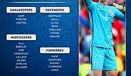 İngiltere'nin EURO 2016 Kadrosu Belli Oldu