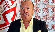 Antalyaspor Başkanı Gültekin Gencer Görevden Ayrılıyor