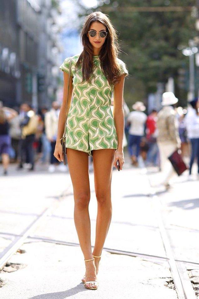 19. Bacaklarınızı, eteğe nazaran daha güzel gösterir ve öne çıkarır.