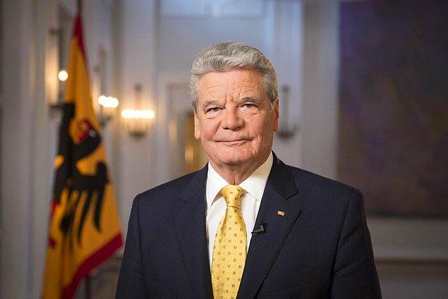 Cumhurbaşkanı Joachim Gauck, 1915 olaylarının 100. yıl dönümü olan geçen sene yaptığı konuşmada 'soykırım' ifadesini kullanmıştı
