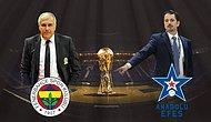 Fenerbahçe ve Anadolu Efes, 5. Kez Finalde Birbirine Rakip Oldu