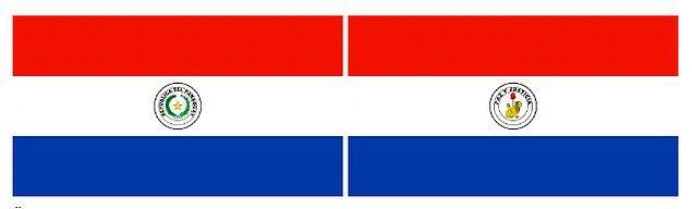 2. Dünyada her 2 tarafı da farklı olan bayrağa sahip tek ülke hangisidir?