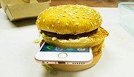 iPhone 6S'i Bu Defa Hamburgerin İçine Koyup Piranha Asidine Attılar