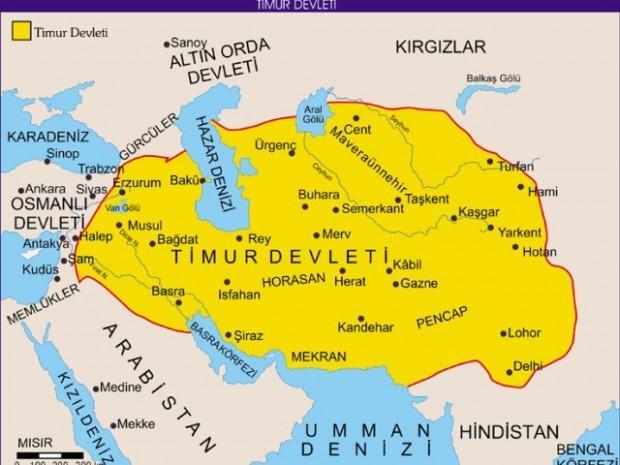 Timur İmparatorluğu harita ile ilgili görsel sonucu