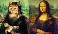 Ünlü tabloların kedi versiyonu