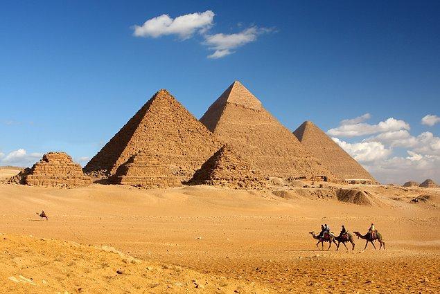 11. Gize Piramitleri - Mısır