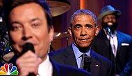 ABD Başkanı Obama ve Jimmy Fallon'dan Başkanlığa Veda Düeti
