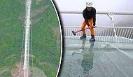 Dünyanın En Yüksek ve Uzun Cam Köprüsüne Balyoz Testi!