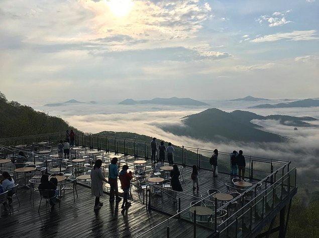 Unkai Terası | Tokachi, Japonya.