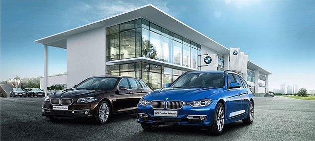 4. Sıradaki sorumuz kullanılmış BMW otomobillerle ilgili. Kullanılmış bir BMW otomobilin BMW Premium Selection sertifikası alabilmesi için maksimum kaç yaşında olmalıdır?