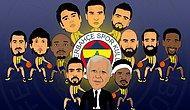 Şampiyon Fenerbahçe'nin Basketbol Takımı Kadrolarından Geçmişten Günümüze 16 Efsane İsim