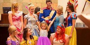 5-ти летняя девочка и принцессы Диснея на слушании по опеке