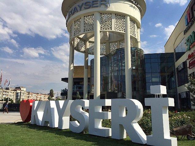 17. İlginç ama gerçek: Kayseri şehrimizin ismi Roma İmparatoru Sezar'dan geliyor.