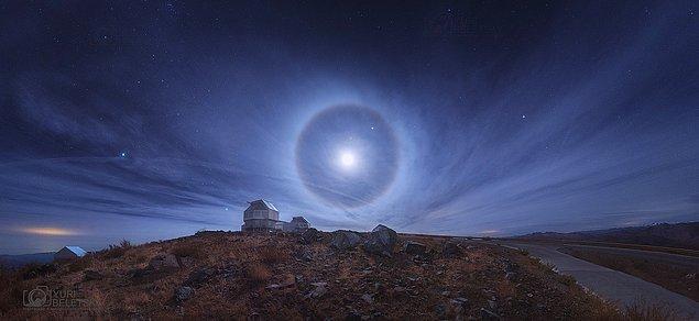 2. Atacama'da Ay Halesi