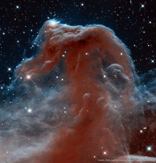 24. Hubble'ın Gözüyle Kızılötesi Dalga Boyunda Atbaşı Bulutsusu