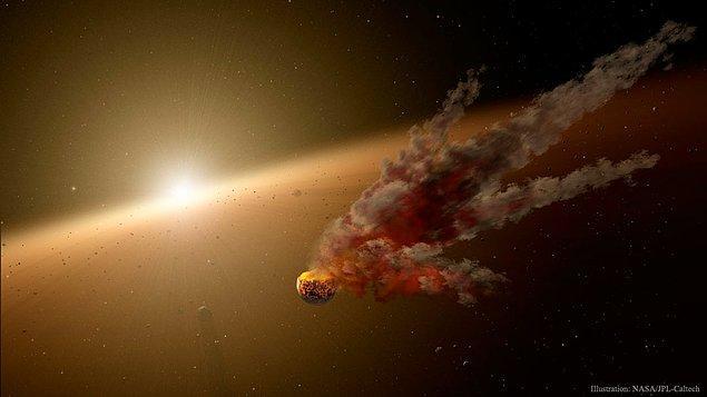 29. KIC 8462852'deki Açıklanamayan Kararmalar