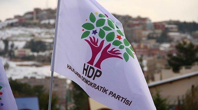HDP'den yapılan açıklama şöyleydi:
