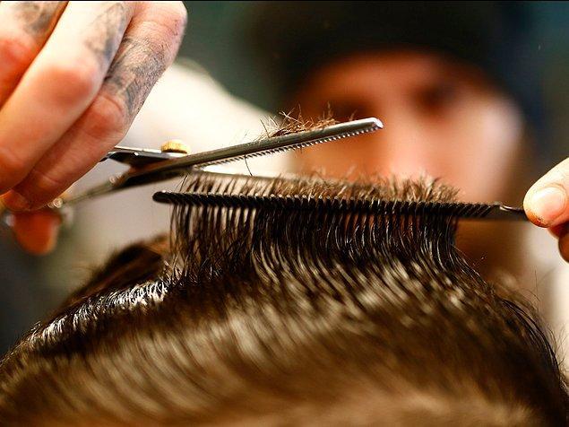 12. Ortalama ayda bir kez saçlarınızı kestirmeye özen gösterin.