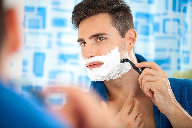 14. Tıraş sonrasında cildinizin tahriş olmaması için şunlara dikkat edin: