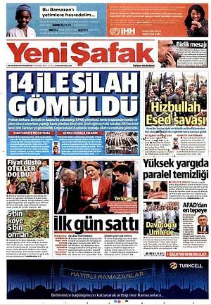 Gazetelerde Bugun 20 Haziran Pazartesi Onedio Com