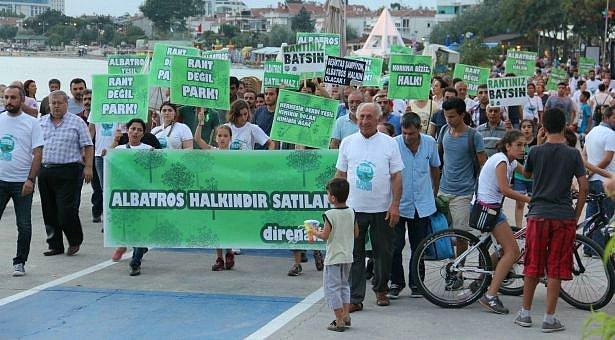 CHP'liler çevrecilere destek vermişti