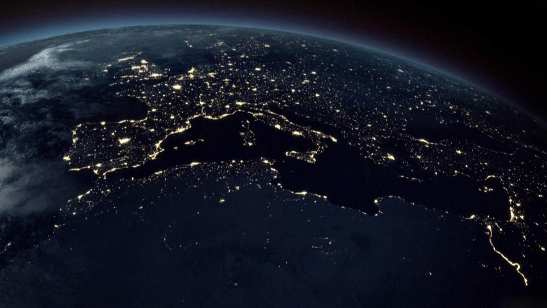 nasa night lights - HD1920×1080