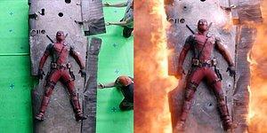 Sinema Bir Sihirdir! Popüler Filmlerin Özel Efekt Öncesi ve Sonrasını Karşılaştıran 27 Görsel