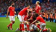 Rusya Euro 2016'ya Veda Etti, Galler Lider Olarak Son 16'da: 3-0