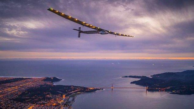"""Solar Impulse ekibi """"bu yıl uçtuğumuz en uzun mesafe olacak"""" dedi"""