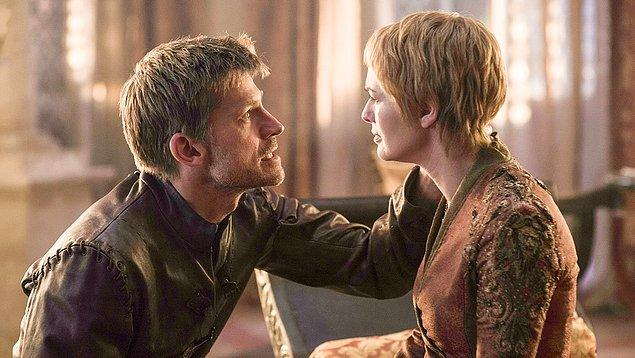 11. Onları pek sevmesek de, yiğidi öldür hakkını yeme demişler: Cersei ❤ Jaime Lannister