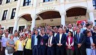 Bolu'da 10. Yıl Marşı'nın Yasaklanmasını Protesto Eden CHP'liler Valiliğe Yürüdü