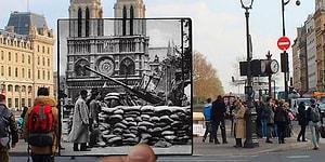 """Париж: 10 ностальгических фотографий из серии """"Тогда и сейчас"""""""