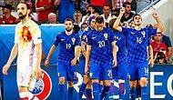 Hırvatlar İspanyolları Dize Getirdi | Hırvatistan 2-1 İspanya