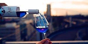 Синее вино - новый тренд, пришедший из Испании