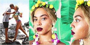 Aşkımsın, Limonata! Hayranlarıyla Paylaştığı 30 Fotoğraf ile Beyonce'nin Tatil Günlüğü