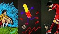 Euro 2016 Snapchat'e Döküldü: Bir Futbol Topu Çevresine Çiziktirilmiş 19 Yaratıcı Snap