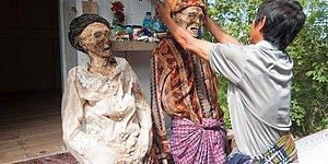 Bir Garip Gelenek: Ölülerle Aynı Evde Yaşama ve Cenazeyi Yıllar Sonra Gün Yüzüne Çıkarma Geleneği