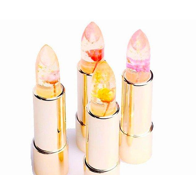 Çinli kozmetik markası 'Kailijumei' piyasaya sürdüğü bu güzelliklerle kadınların gönlünü fethetmeye başladı...🙆👯💄