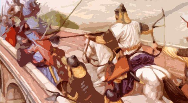 4. Türklerin ilk bağımsızlık hareketlerinden birisi olarak zikredilen Kürşad Ayaklanması'nda, Kürşad kaç asker ile birlikte Chiu-ch'eng Sarayı'na saldırmıştır?