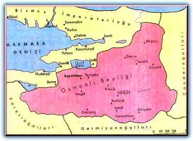 6. Osmanlı Devleti hangi yılda kurulmuştur?