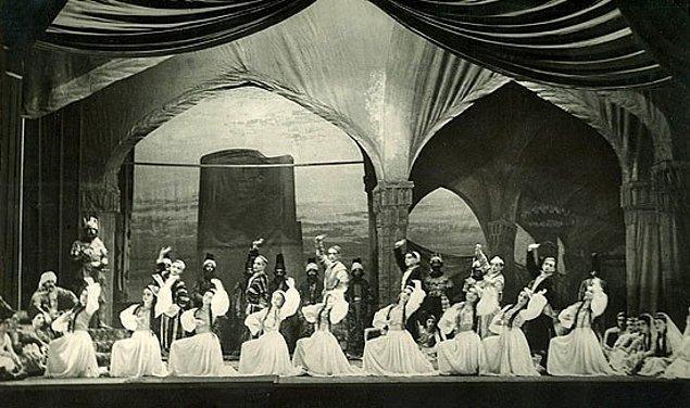 5. Müslüman Doğu'sunda ilk bale: Kız Kulesi Balesi